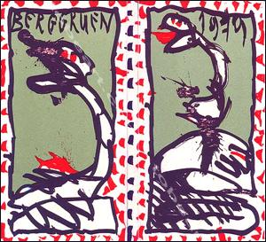 Pierre alechinsky maitres graveurs contemporains paris for Alechinsky lithographie