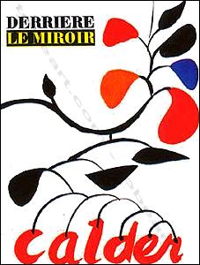 Derriere le miroir n 69 70 alexander calder paris for Calder derriere le miroir