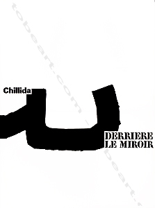 Eduardo chillida derriere le miroir n 204 paris maeght for Maeght derriere le miroir