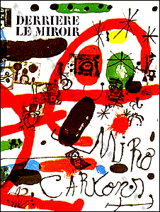 Derriere le miroir n 151 152 joan miro paris maeght for Miro derriere le miroir
