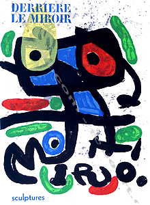 Derriere le miroir n 186 joan miro paris maeght 1970 for Maeght derriere le miroir
