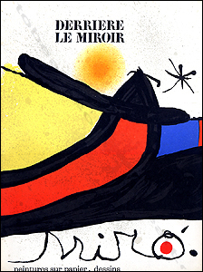 Joan miro derriere le miroir n 193 194 paris maeght for Maeght derriere le miroir