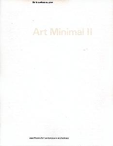 Art minimal i ii bordeaux capc 1985 86 librairie for Art minimal livre