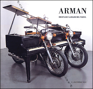 Arman bernard lamarche vadel paris editions de la for Arman biographie