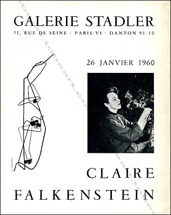 Claire Falkenstein scrapbook, 1958
